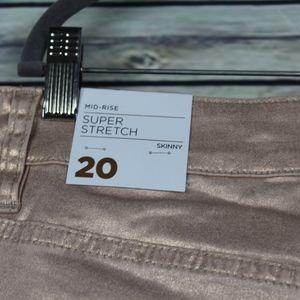 Lane Bryant Jeans - Lane Bryant Super Stretch Mid Rise Skinny Jeans 20